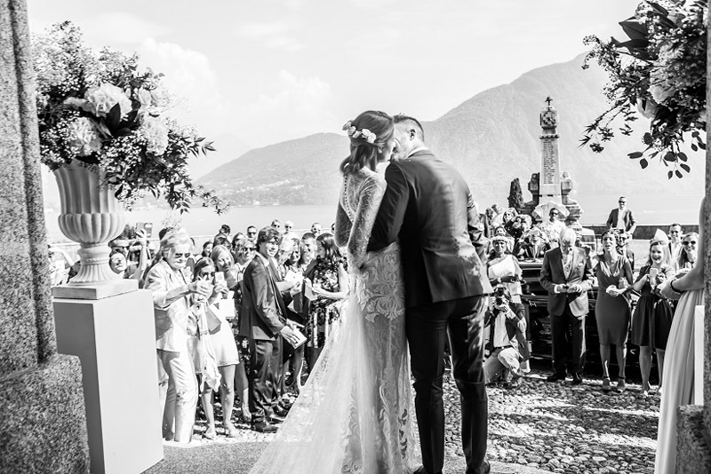 Matrimonio sul lago di Como, il Velo e il Cilindro