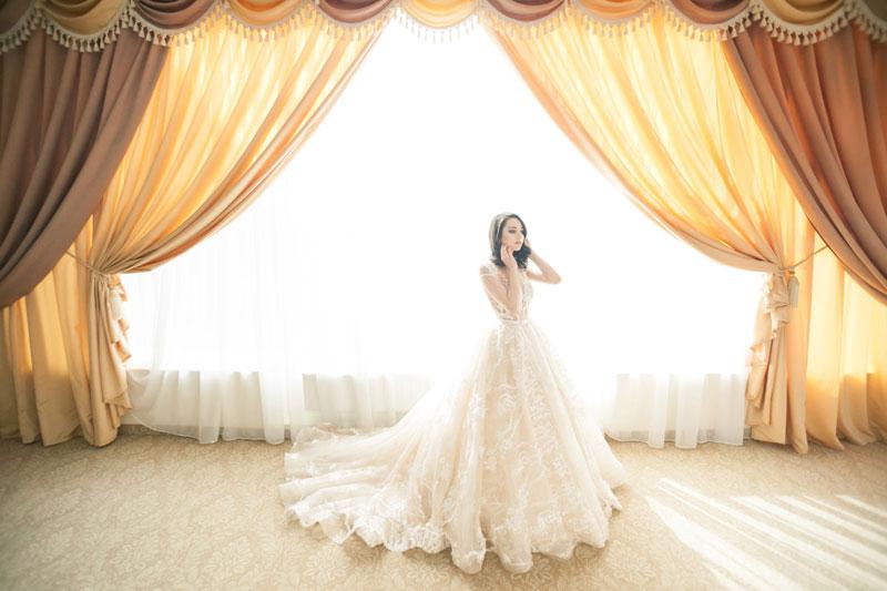 L'abito da sposa, come scegliere quello giusto, il Velo e il Cilindro