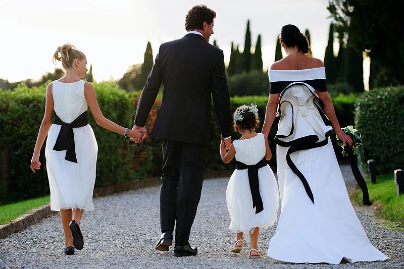 Matrimonio a Siena, il Velo e il Cilindro