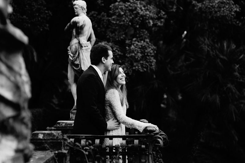 Timeless elopement in europe - Wedding in Portofino, il Velo e il Cilindro