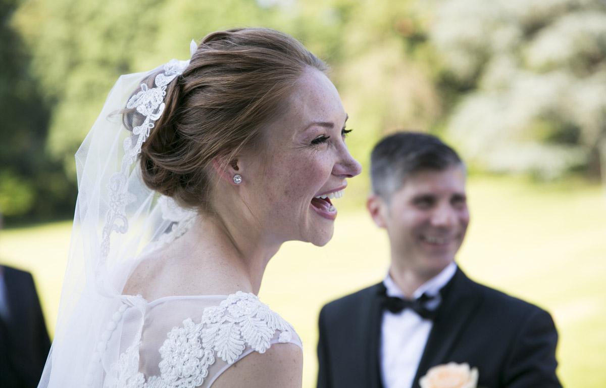 Rito all'americana in giardino - il Velo e il Cilindro Wedding Planner Milano