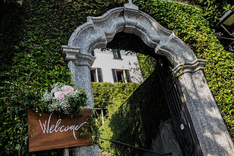 Wedding Lake Como - il Velo e il Cilindro Wedding planner Milan